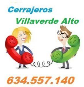 Telefono de la empresa cerrajeros Villaverde Alto